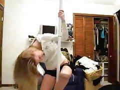 Mia manarote in white porn